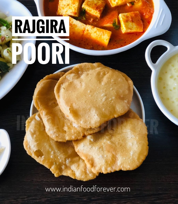 Rajgira Aloo Poori