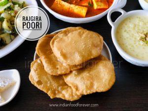 Rajgira Ki Poori