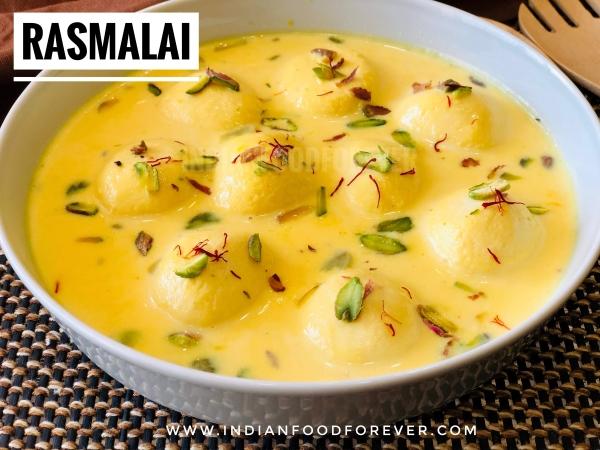 Rasmalai Homemade