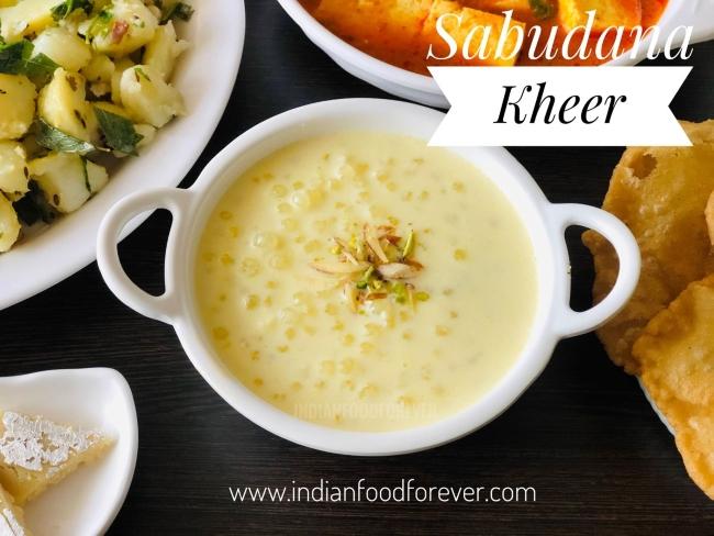 Sabudana Ki Kheer