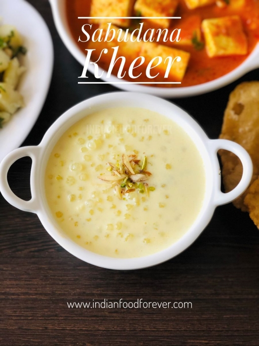 Sabudana Kheer With Milk