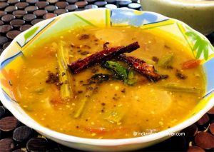 Sambhar Recipe With Coconut