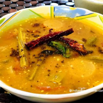 Sambhar Recipe With Coconut