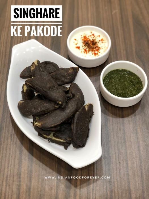 Singhare Ka Pakore