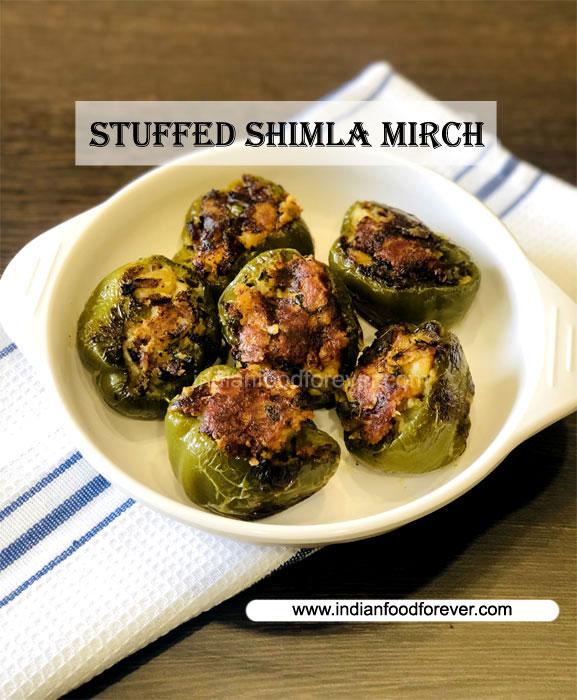 Stuffed Shimla Mirch