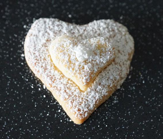Sugar Heart Cookie
