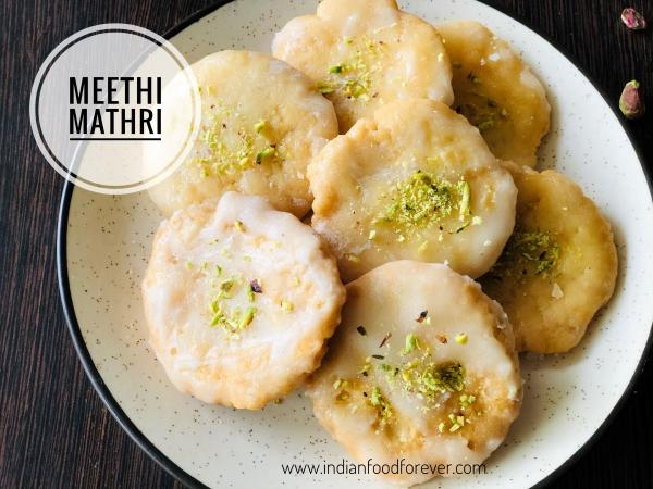 Sweet Meethi Mathri