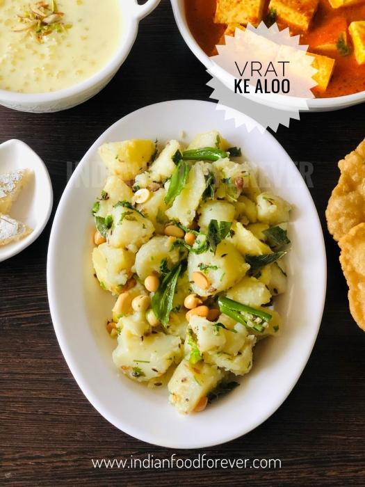 "<strong><a href=""https://www.indianfoodforever.com/holiday-recipes/navratri/vrat-ke-aloo.html"">Vrat Ka Aloo</a></strong>"