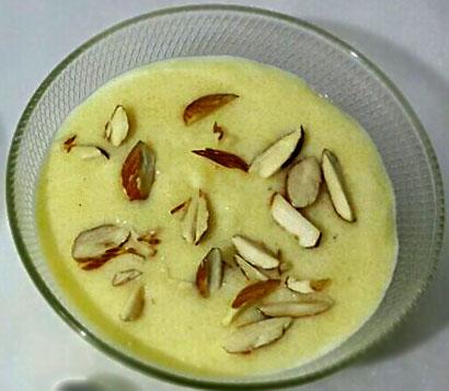 Badam Phirni