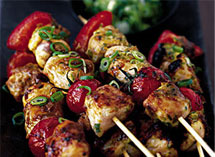 Chicken Shashlik Recipe How To Make Chicken Shashlik