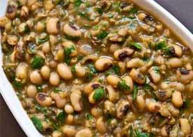 Lobia masala recipe punjabi lobhia masala black eyed beans curry