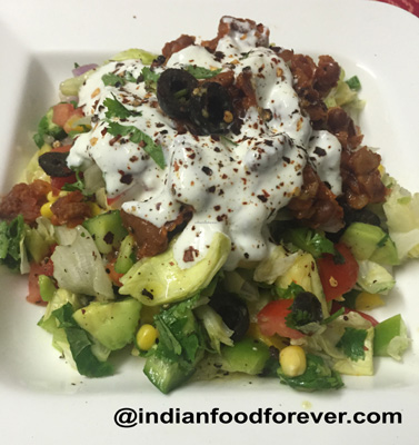 Mexican Rajma Salad
