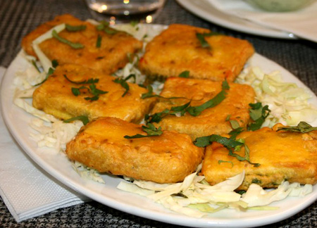 paneer pakora - Cooking Competition June 2012