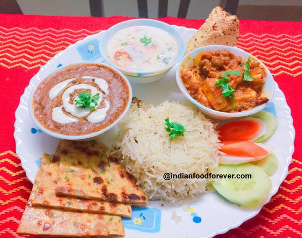 Punjabi Thali Veg